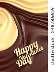 happy valentines day. chocolate ... | Shutterstock . vector #248786659
