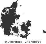 map of denmark | Shutterstock .eps vector #248788999