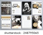 set of design templates for... | Shutterstock .eps vector #248795065