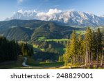 view from mountain to the...   Shutterstock . vector #248829001