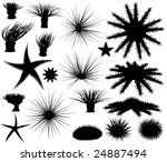 set of editable vector... | Shutterstock .eps vector #24887494