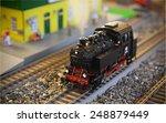Model Of A Steam Locomotive...