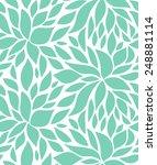 Seamless Stylish Pattern With ...