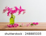 Still Life With Pink Flowers O...