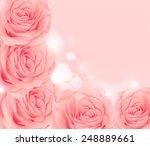 flower rose | Shutterstock . vector #248889661