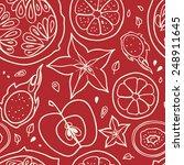 seamless vector background... | Shutterstock .eps vector #248911645