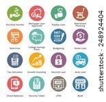 personal   business finance... | Shutterstock .eps vector #248924404