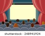 online cinema watch movie... | Shutterstock .eps vector #248941924
