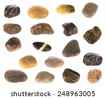 Stones Collection Isolated On...