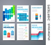 templates. set of web  mail ... | Shutterstock .eps vector #248978395