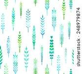 seamless pattern of watercolour ... | Shutterstock .eps vector #248979874