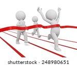 3d people crossing the... | Shutterstock . vector #248980651