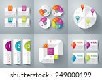 infographic design template can ... | Shutterstock .eps vector #249000199