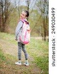portrait of beauty pre teen... | Shutterstock . vector #249030499