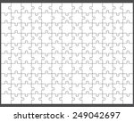 vector illustration of white... | Shutterstock .eps vector #249042697