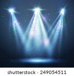 abstract  spotlight background. | Shutterstock .eps vector #249054511