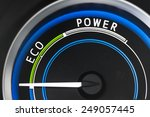 economy scale instrument in... | Shutterstock . vector #249057445