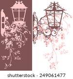 spring season street light... | Shutterstock .eps vector #249061477