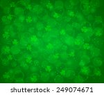 Abstract St Patrick's Day...