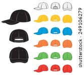 graphic baseball cap in a...