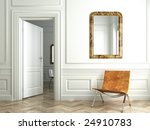 classic white interior with... | Shutterstock . vector #24910783