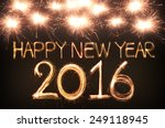 Happy New Year 2016 Written...