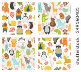 Vector Seamless Patterns With...