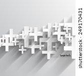 positive sign design background | Shutterstock .eps vector #249170431
