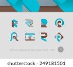 logo design templates. stylized ...