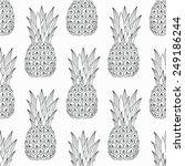 Pineapple Seamless Pattern....