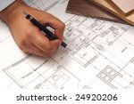 hand draw plan for architecture | Shutterstock . vector #24920206