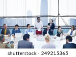 business people corporate... | Shutterstock . vector #249215365