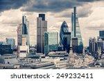 The City Of London  Cross...