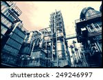 oil and gas refinery industry ...   Shutterstock . vector #249246997