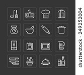 vector flat icons set of...