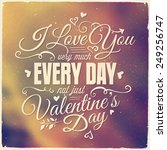 Valentine's Day Lettering...