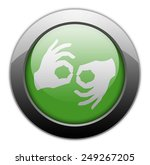 icon  button  pictogram with... | Shutterstock . vector #249267205