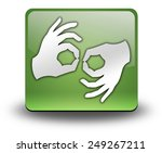 icon  button  pictogram with... | Shutterstock . vector #249267211
