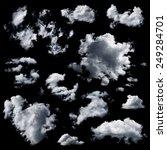 Set Multiple Clouds Cloud Formations - Fine Art prints