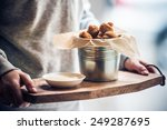 Deep Fried Mushrooms With...