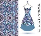 vector fashion illustration ...   Shutterstock .eps vector #249288364