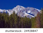 colorado's rocky mountains with ... | Shutterstock . vector #24928847