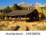 a country cabin in colorado in... | Shutterstock . vector #24928856