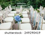 chairs from wedding ceremony | Shutterstock . vector #249290419