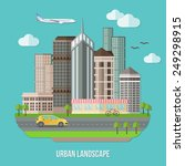 Urban Landscape Illustration...