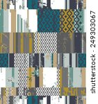 Textured Patchwork With Rapport