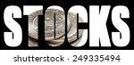 stocks  american stock market ... | Shutterstock . vector #249335494