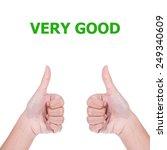 very good   Shutterstock . vector #249340609