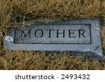 """Grave Marker  """"mother"""""""
