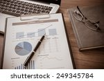 showing business and financial... | Shutterstock . vector #249345784
